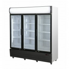 3 Door Upright Combination Fridge / Freezer, 1800mm Wide