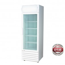 Thermaster by FED LG-370GE Single Glass Door Colourbond Upright Drink Fridge 540L