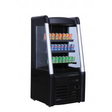 Bonvue by FED BLF-706 Low Height Free Standing Open Drink Fridge/Merchendiser