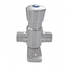 Foot/Knee Operated Water Valve 0-18sec Adjustable Timed Flow Commercial Grade