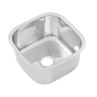 Stainless Pressed Sink Bowl (330W x330D x210H)