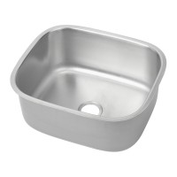 Stainless Pressed Sink Bowl (450W x380D x200H)