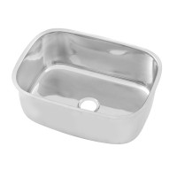 Stainless Pressed Sink Bowl (520W x370D x210H)