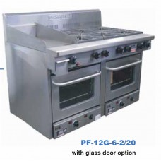 Glass door PF 28 oven