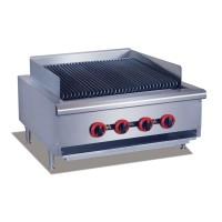 Gas Char Grill top, 4 burner