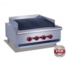 Gas Char Grill top, 4 burner