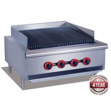 Gas Char Grill top, 4 burner LPG