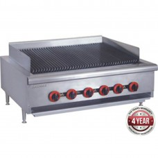 Gas Char Grill top, 6 burner