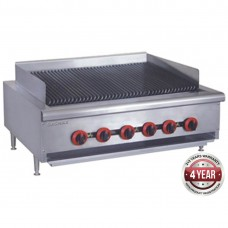 Gas Char Grill top, 6 burner LPG
