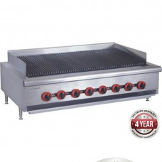 Gas Char Grill top, 8 burner