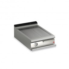 Baron Q70FT/E610 Queen7 Countertop Electric Ribbed Mild Steel Griddle Plate - 600mm