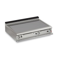 Queen7 Countertop Gas Flat Mild Steel Griddle Plate Thermostat Cont. - 1200mm