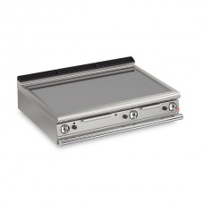 Baron Q70FTT/G1200 Queen7 Countertop Gas Flat Mild Steel Griddle Plate Thermostat Cont. - 1200mm