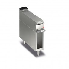 Baron Q70NEV/200 Queen7 Equipment Matching Stainless Bench Top On Open Cabinet - 200mm