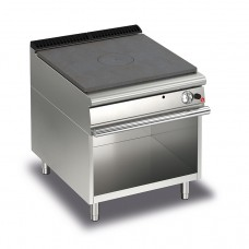 Baron Q70TPV/G800 Queen7 Gas Solid Top On Open Cabinet - 800mm