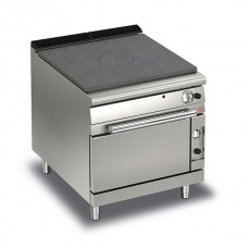 Baron Q70TPF/G800 Queen7 Gas Solid Top Range with Gas Oven - 800mm
