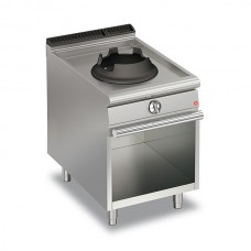 Baron Q70PCV/WG610 Queen7 Single Hole 10Kw Wok On Open Cabinet - 600mm