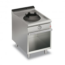 Baron Q70PCV/WG614 Queen7 Single Hole 14Kw Wok On Open Cabinet - 600mm