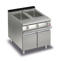 Queen7 Twin Tank Electric Pasta Cooker - 800mm