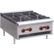 Gasmax by FED RB-4 Four Burner Hob With Flame Failure