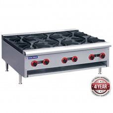 Gasmax by FED RB-6ELPG Gas Cook Top 6 Burners Lpg