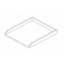 Goldstein RBSGPEXS2 360mm Stainless Steel Plate For RBA Char Broilers