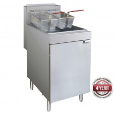 4 burner LPG gas fryer