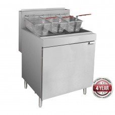 5 burner LPG gas fryer