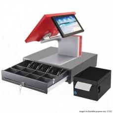 """Restaurant Pro Commercial POS System Touchscreen 15"""" Aures Sango"""