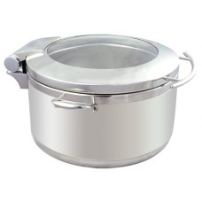 Kingo KGJ303 Round Glass Lid Soup Warmer