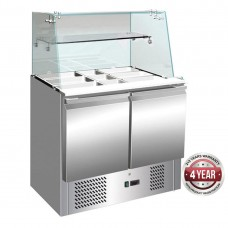 Thermaster by FED S900GC Compact Food Service Bar Two Door