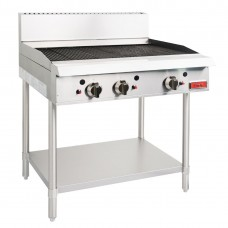 Thor GH104-N Gas Char Broiler 36 - Radiant manual controls with flame failure NG