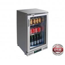 F.E.D. SC148SG Single Door Stainless Steel Drink Cooler