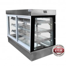 F.E.D. SCHT12 Belleview Square Drop-In Heated Display Cabinet - 1200