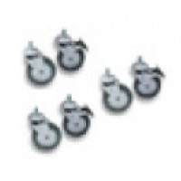 Set of six (6) castors (700+900 Series)