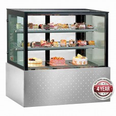 Thermaster by FED SG120FA-2XB Belleview Chilled Food Display - 1200mm