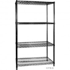 F.E.D. B18/24 Coolroom Wire Shelving - 610Wx457Dx1880H