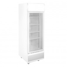 Thermaster by FED LG-570GTH Single Glass Door Upright Display Fridge