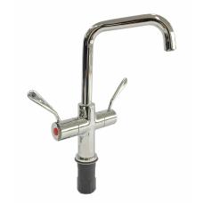 Aqualine AQD3150 Single Hole Deck Mount 180mm Swing Faucet