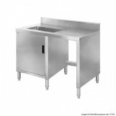 F.E.D. BT05S Sink Cabinet workbench with splashback