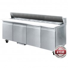 Thermaster by FED SLB240 Four Door Sandwich Bar