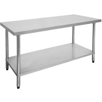 Budget Stainless Steel Bench 1500x600