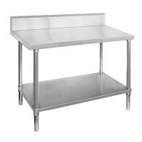 Premium Stainless Steel Bench With Splashback 900x700