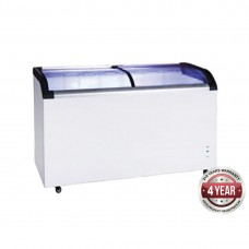 Thermaster by FED ST445 Supermarket Glass Sliding Lid Freezer
