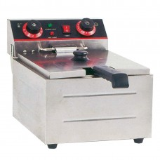 Electmax by FED TEF-101KW Single Tank Electric Benchtop Fryer 3Kw