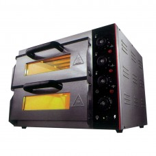 Electric Pizza Oven, Double Deck