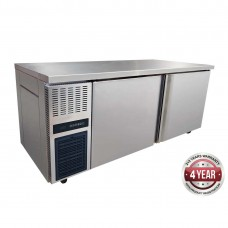 S/S Double Door Bench Freezer 1800X700X865mm