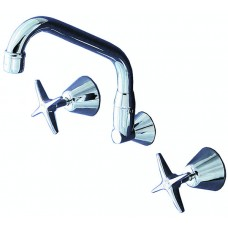 Wall Mount Sink Set - 220mm spout