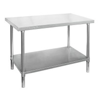 Premium Stainless Steel Bench 2400x600mm