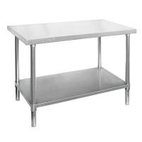 Premium Stainless Steel Bench 2400x600mm